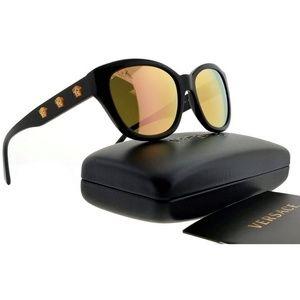 VE4343A-GB12Y-56 Womens Black Frame Sunglasses NWT